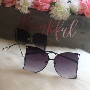 Accessories - 2 for $30 Ombré Oversized Pearl Sunglasses
